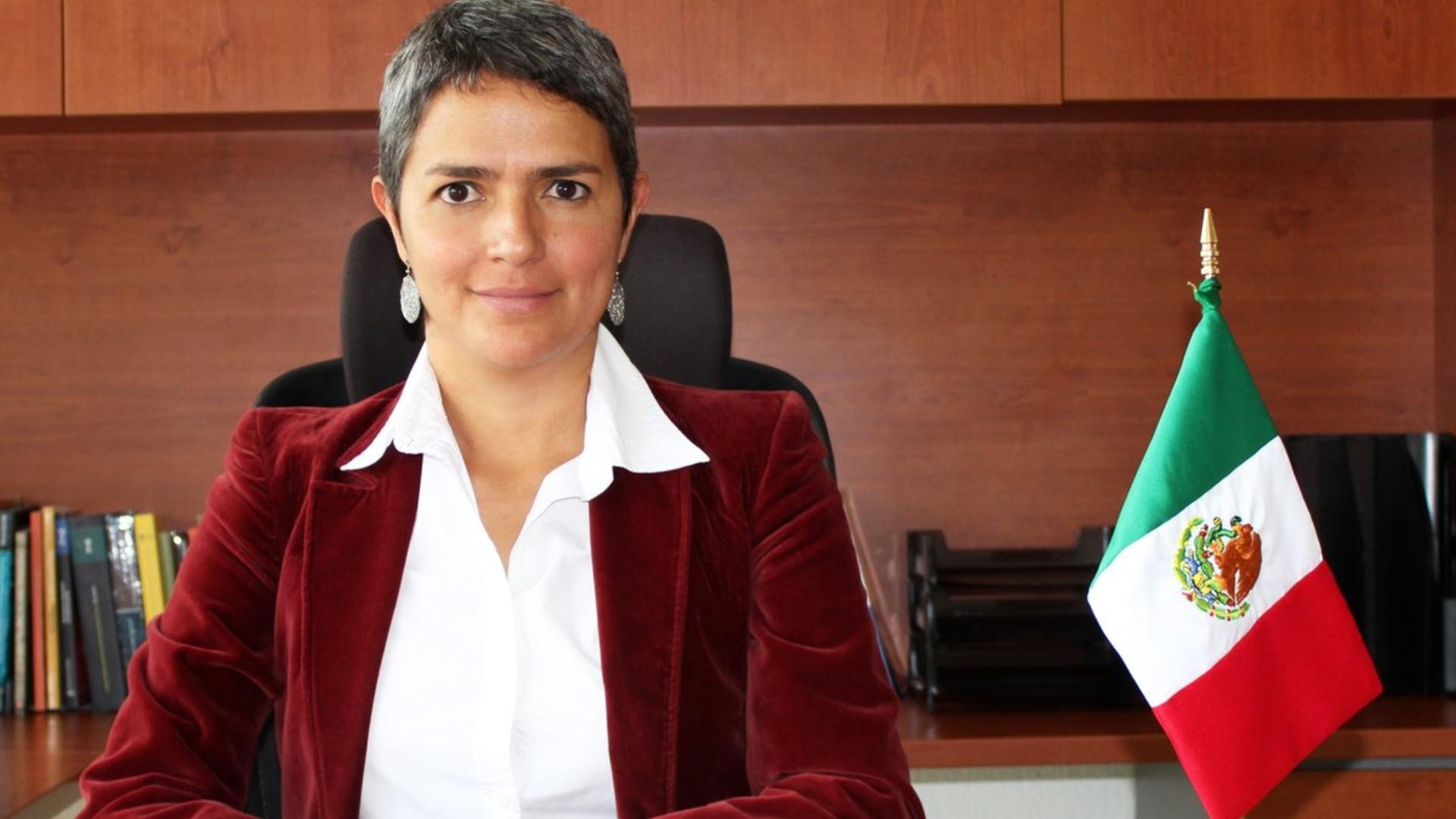 La titular es doctora en Derecho por la UNAM (Foto: Segob)
