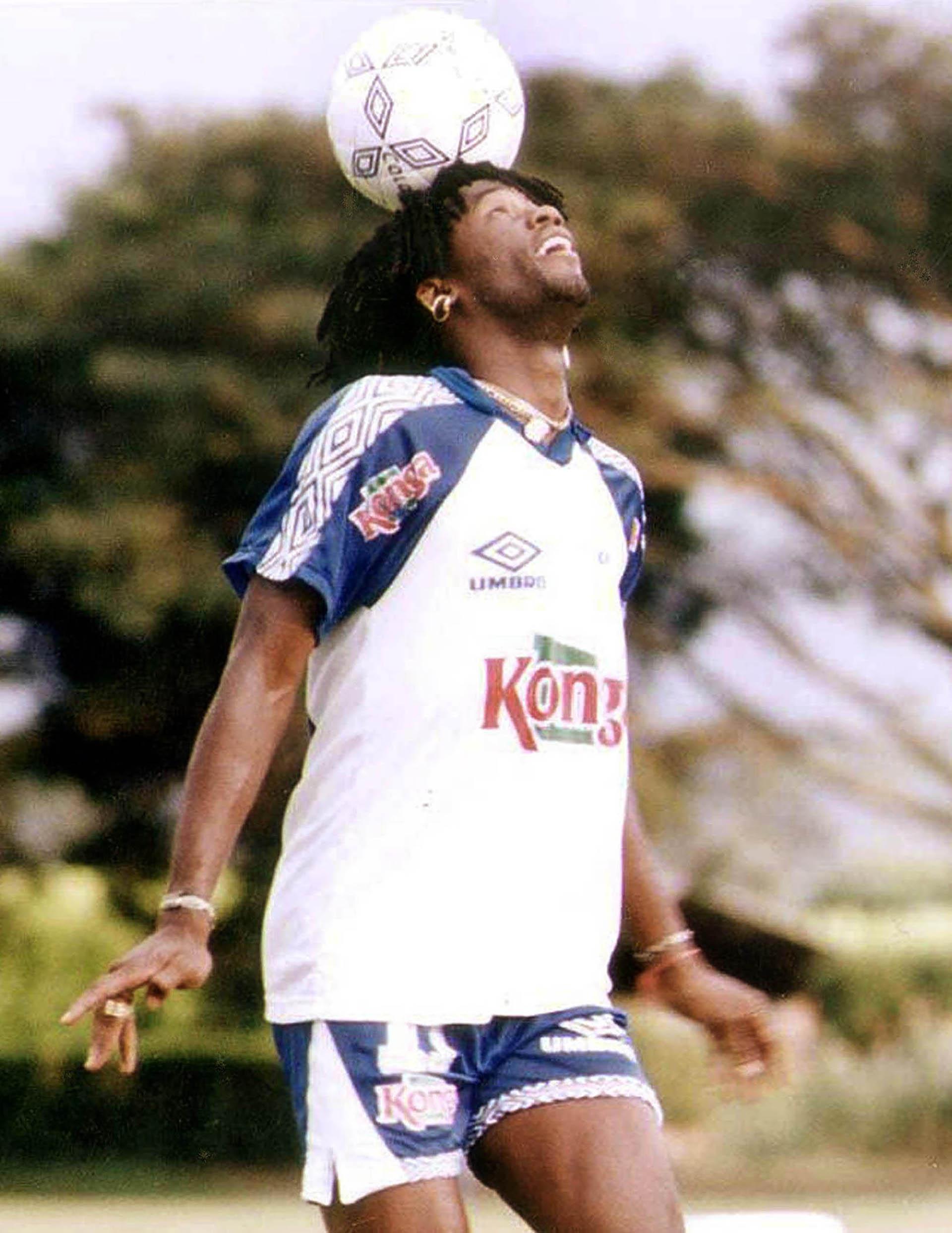Usuriaga fue elegido como integrante del mejor equipo de América 1994 (Foto: AFP)