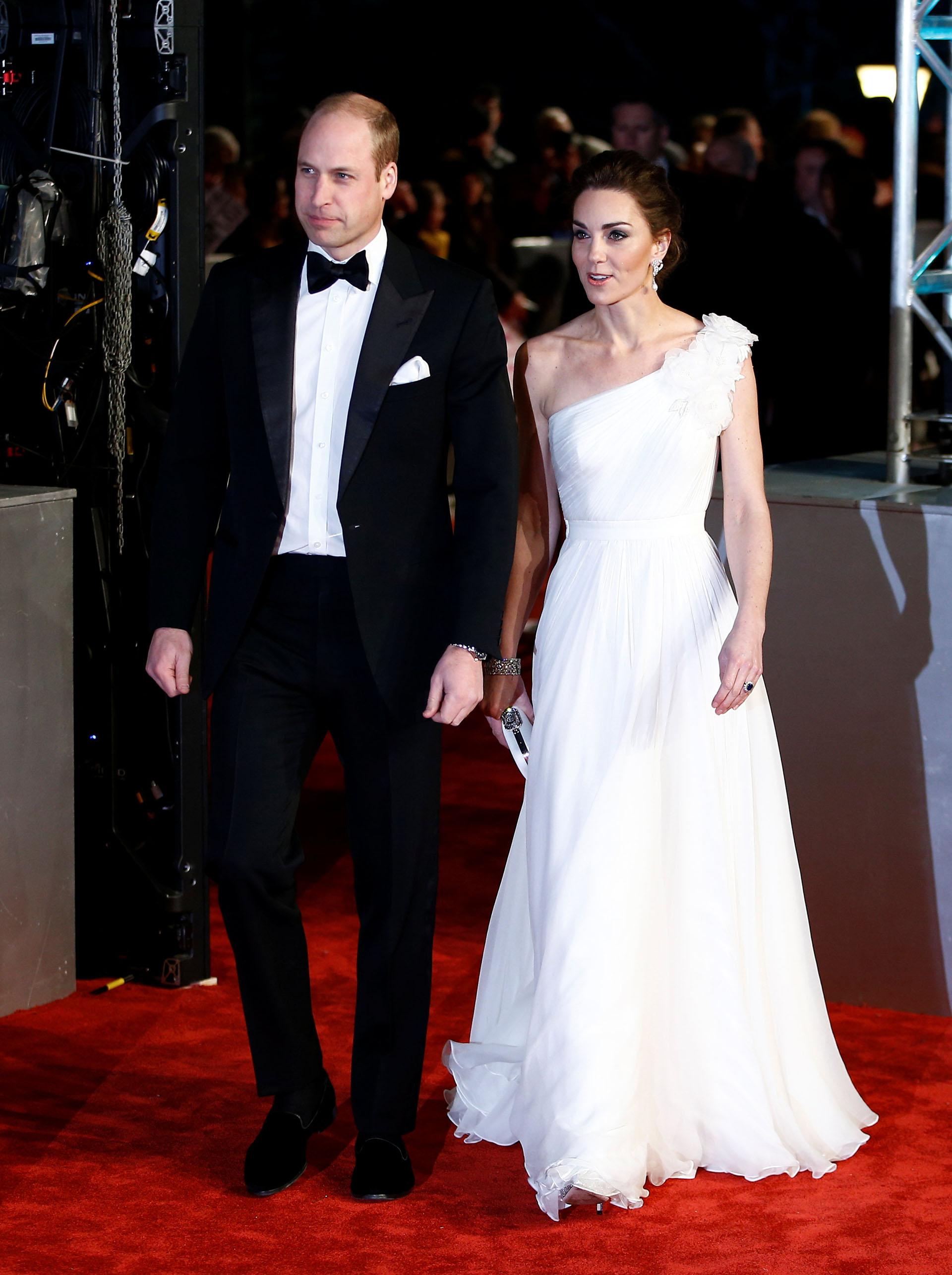 Los duques de Cambridge en los BAFTA 2019