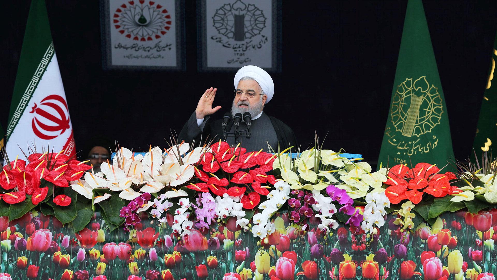 """Rouhani aseguró que """"el enemigo no alcanzará sus planes diabólicos"""" (Reuters)"""