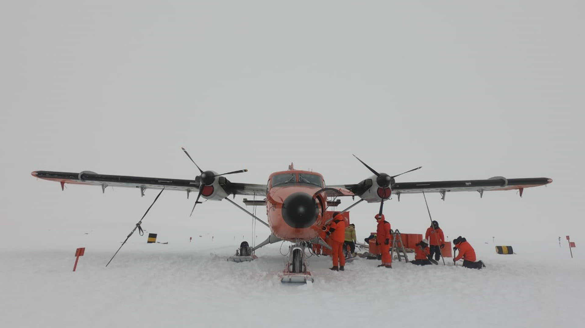 El vuelo fue histórico y se concretó durante el mes de febrero