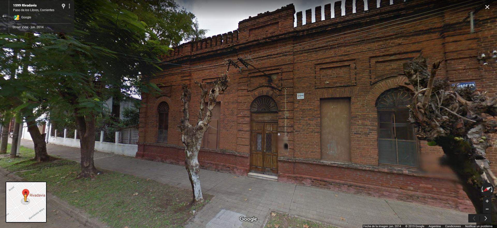 La casa en Rivadavia 1593, Paso de los Libres, Corrientes