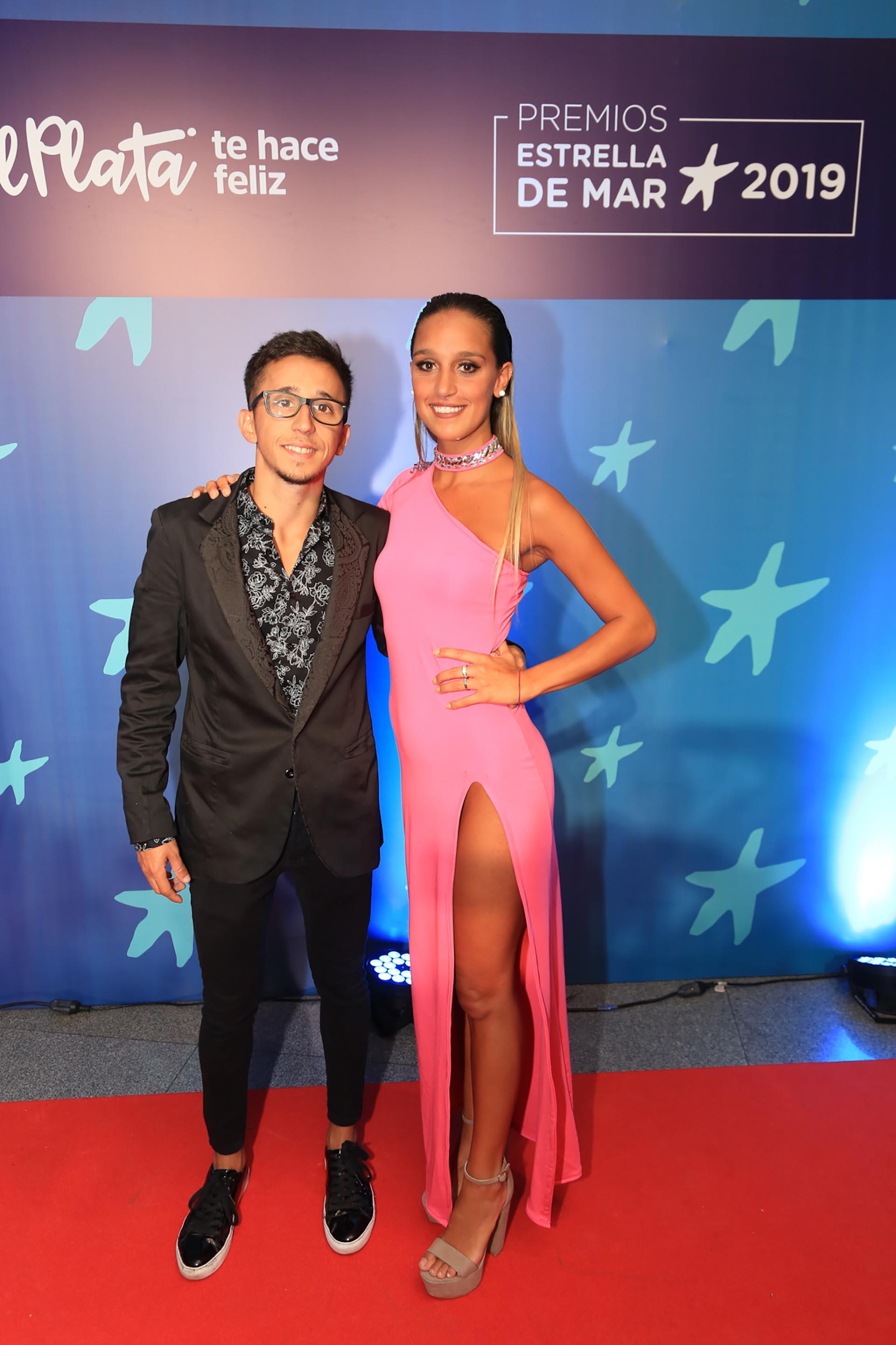 Rodrigo Noya y su nueva novia, Martina Scigliano