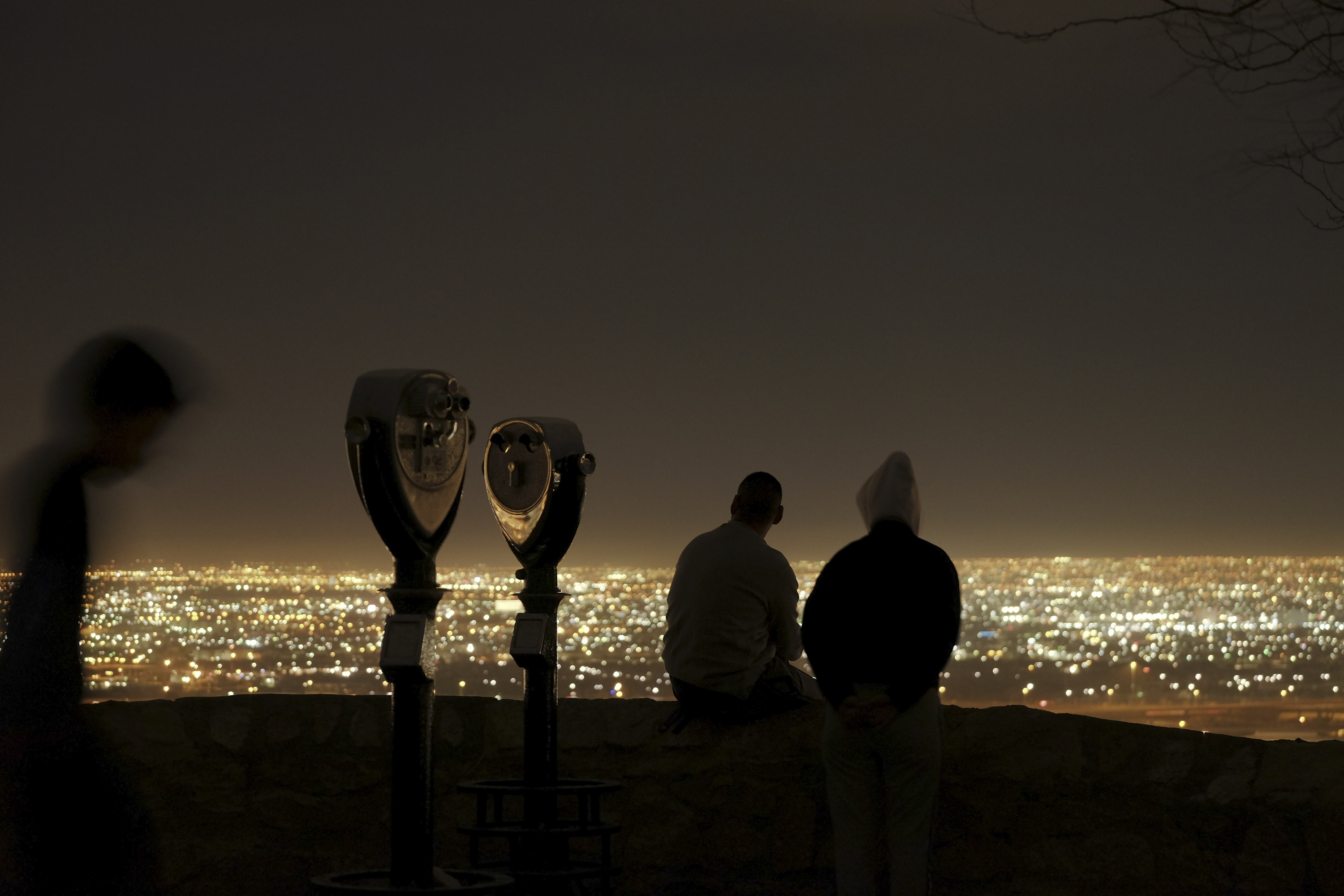 Vistas de El Paso, Texas, y Cuidad Juarez, Mexico. (Jessica Lutz/The New York Times)