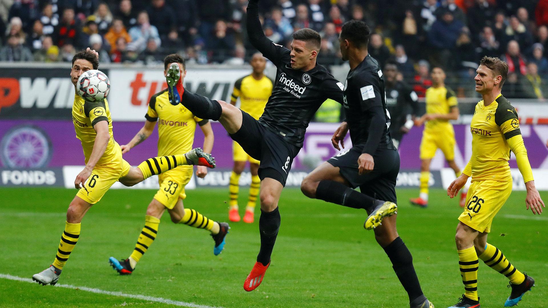 Luka Jovic ha mostrado grandes cualidades en la liga alemana (Reuters)
