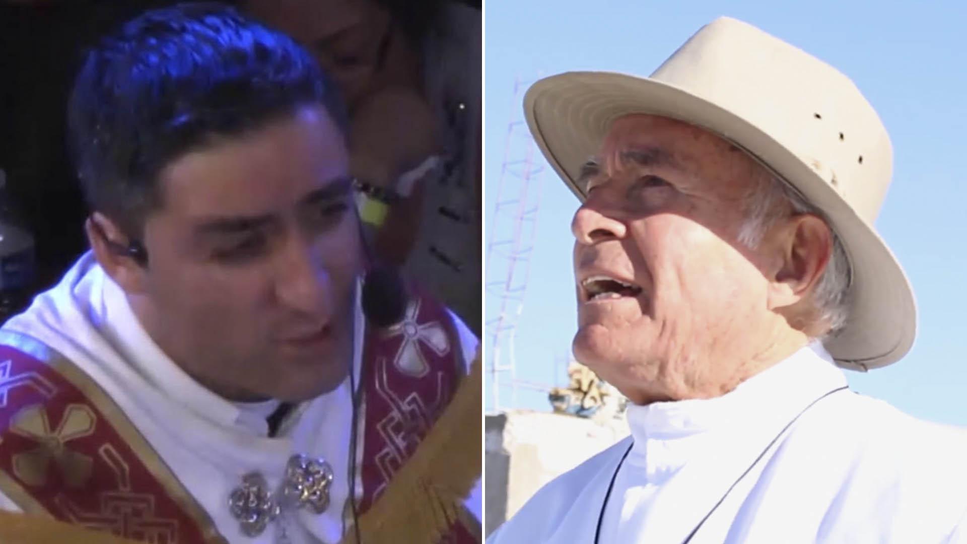Los sacerdotes acusados de abuso sexual en Chihuahua. (Foto: Especial)
