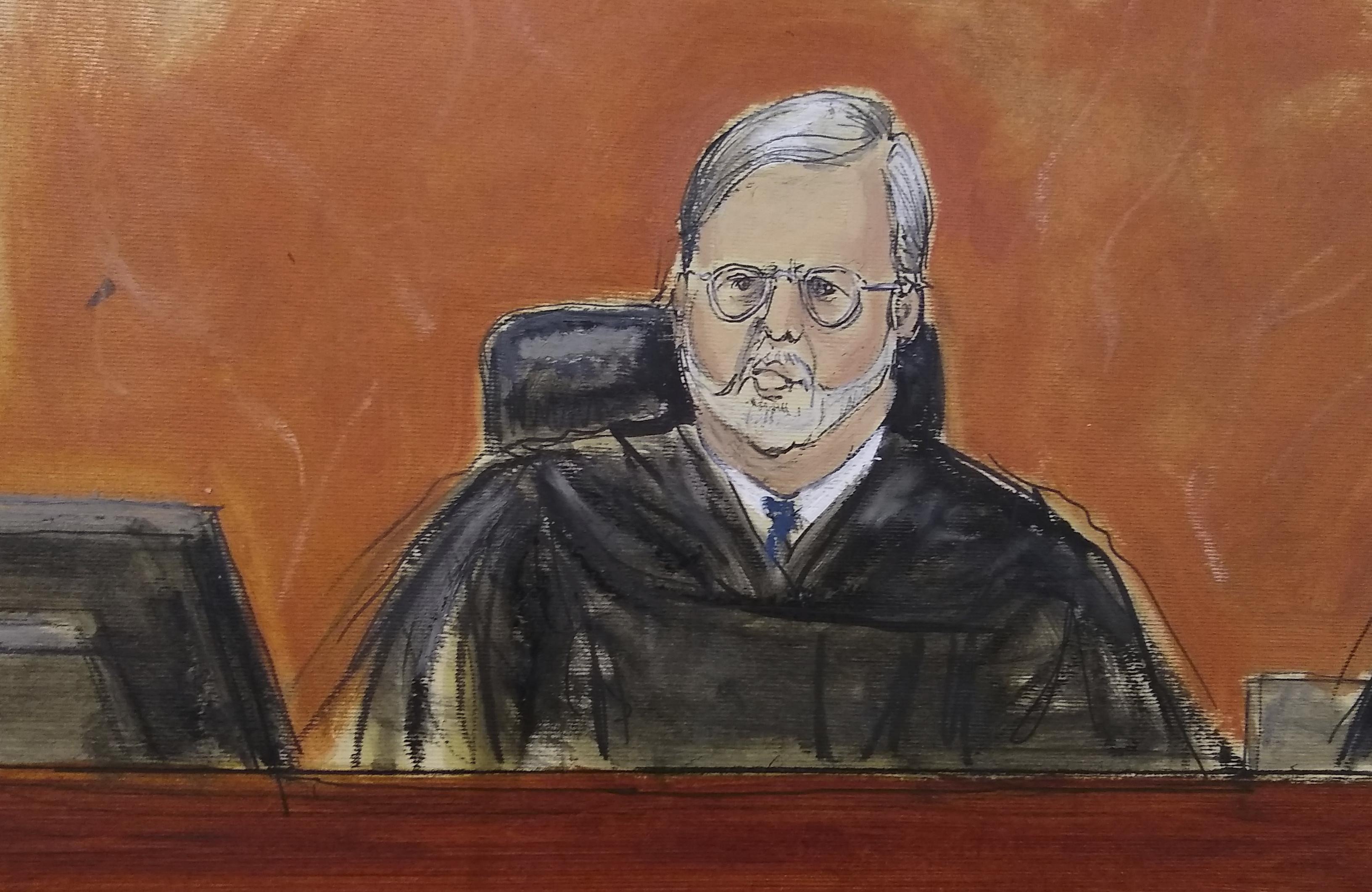 Juez Brian Cogan (Elizabeth Williams via AP)