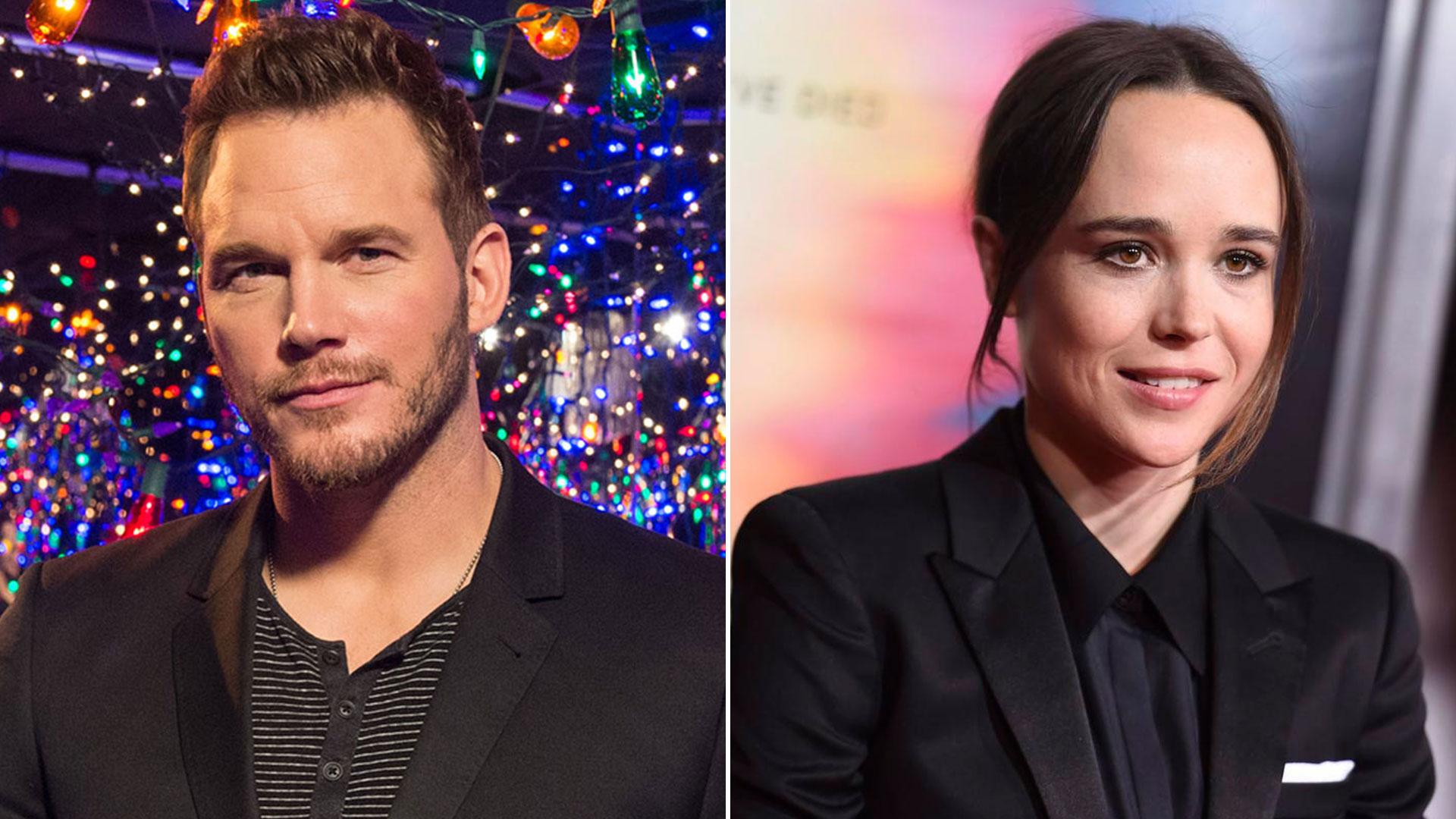 Ellen Page acusó a Chris Pratt de pertencer a una Iglesia anti-LGBTQ