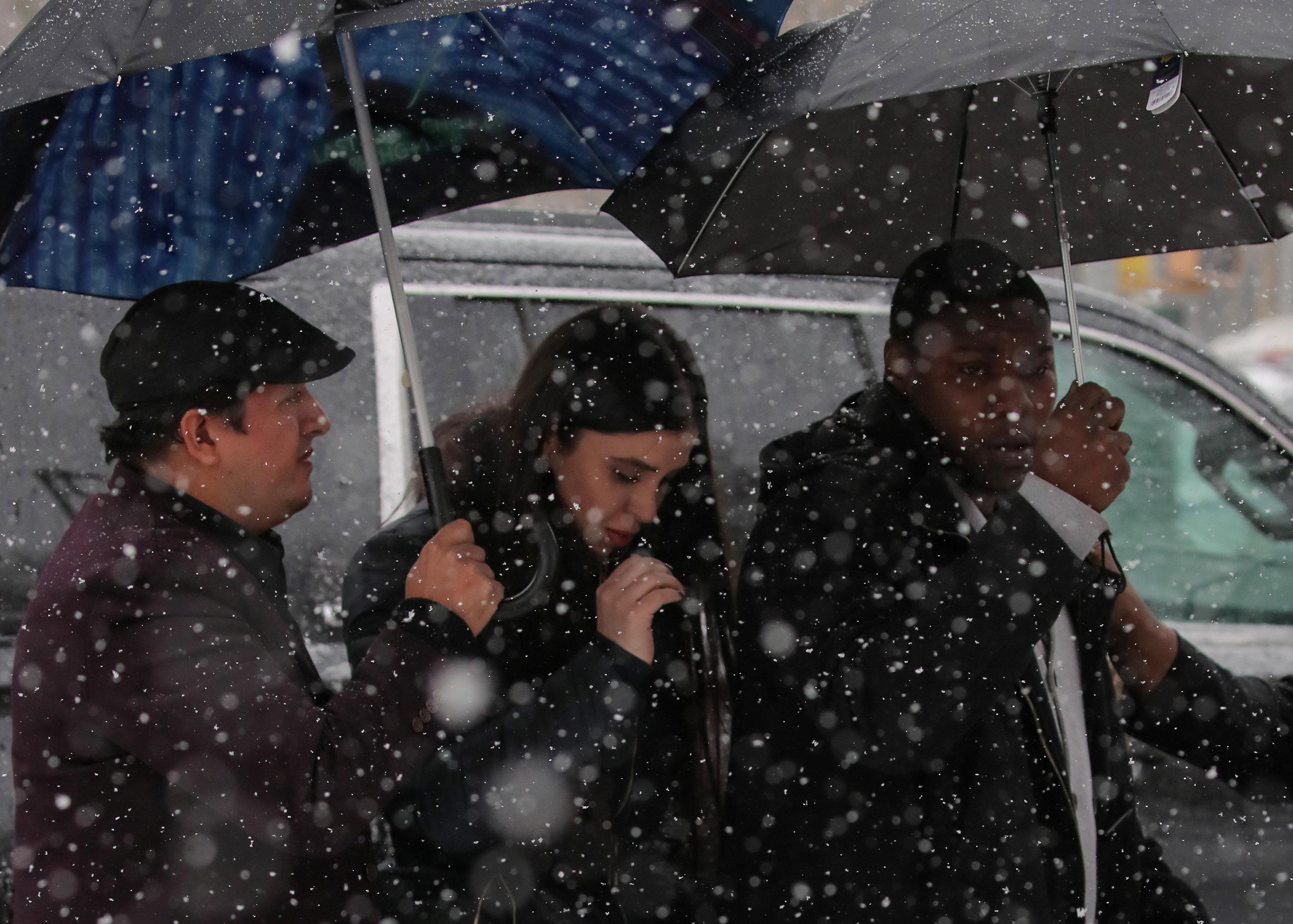 Emma Coronel dijo que no iba a llorar REUTERS/Brendan McDermid
