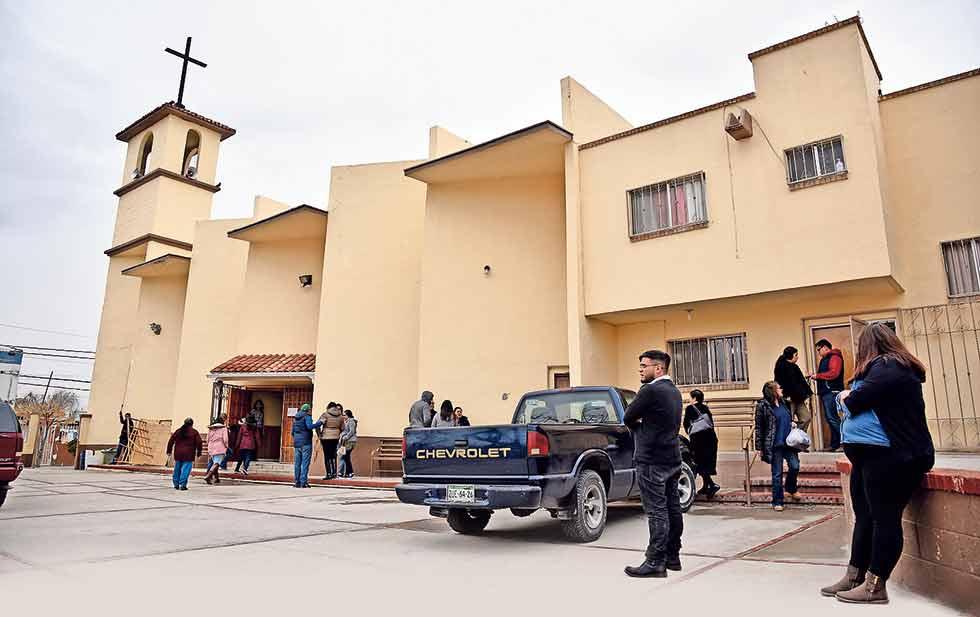 En la parroquia de Santa María de la Montaña fue detenido el sacerdote Aristeo Baca.