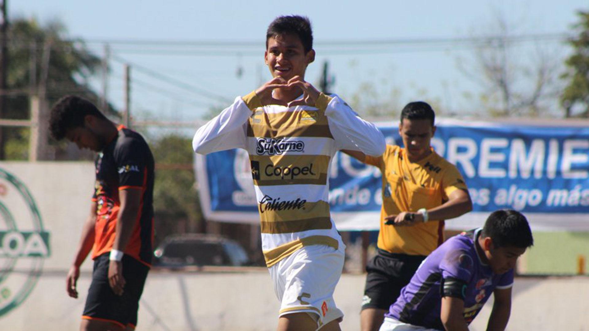 El joven mediocampista, de 17 años, que citó Maradona para el duelo ante Zacatepec