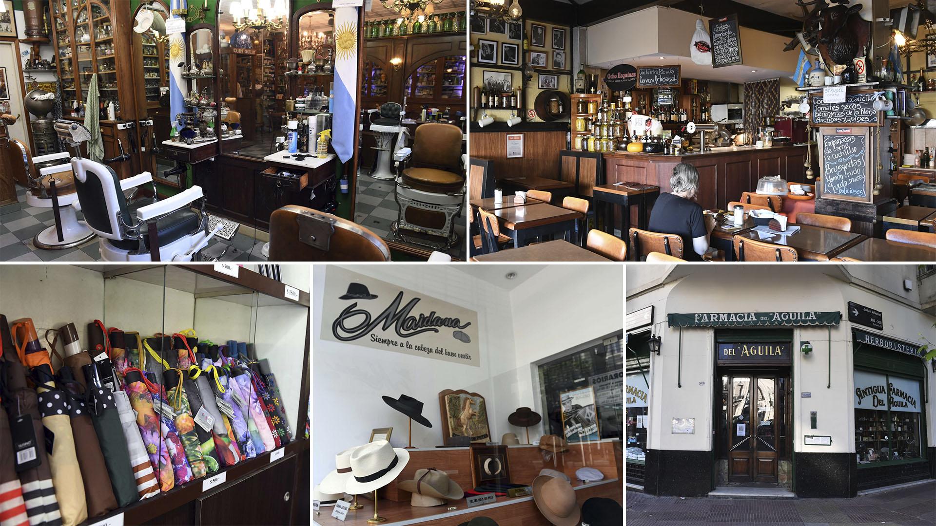 Buenos Aires mantiene lugares que parecen detenidos en el tiempo