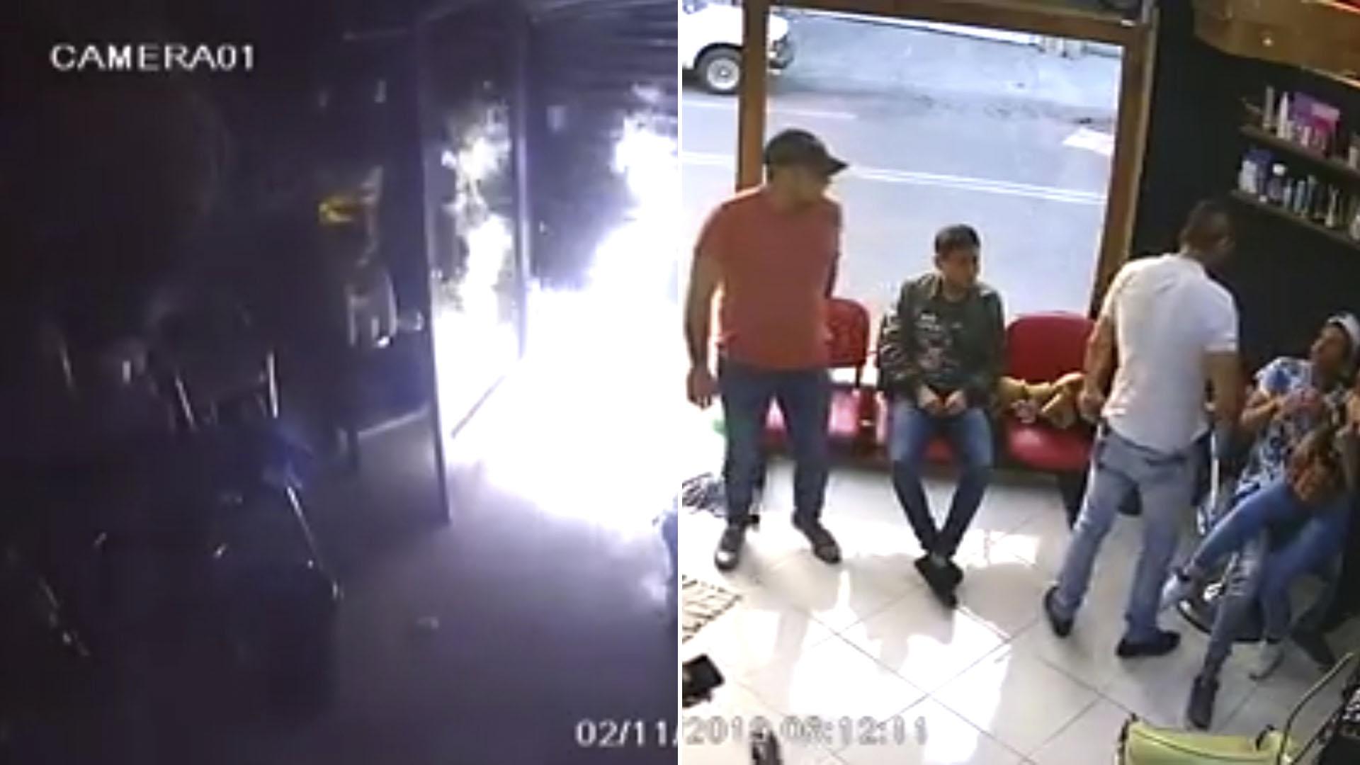 Los asaltos en la Ciudad de México han ido en aumento. Nadie se salva, ni los locales comerciales (Foto: captura de pantalla)