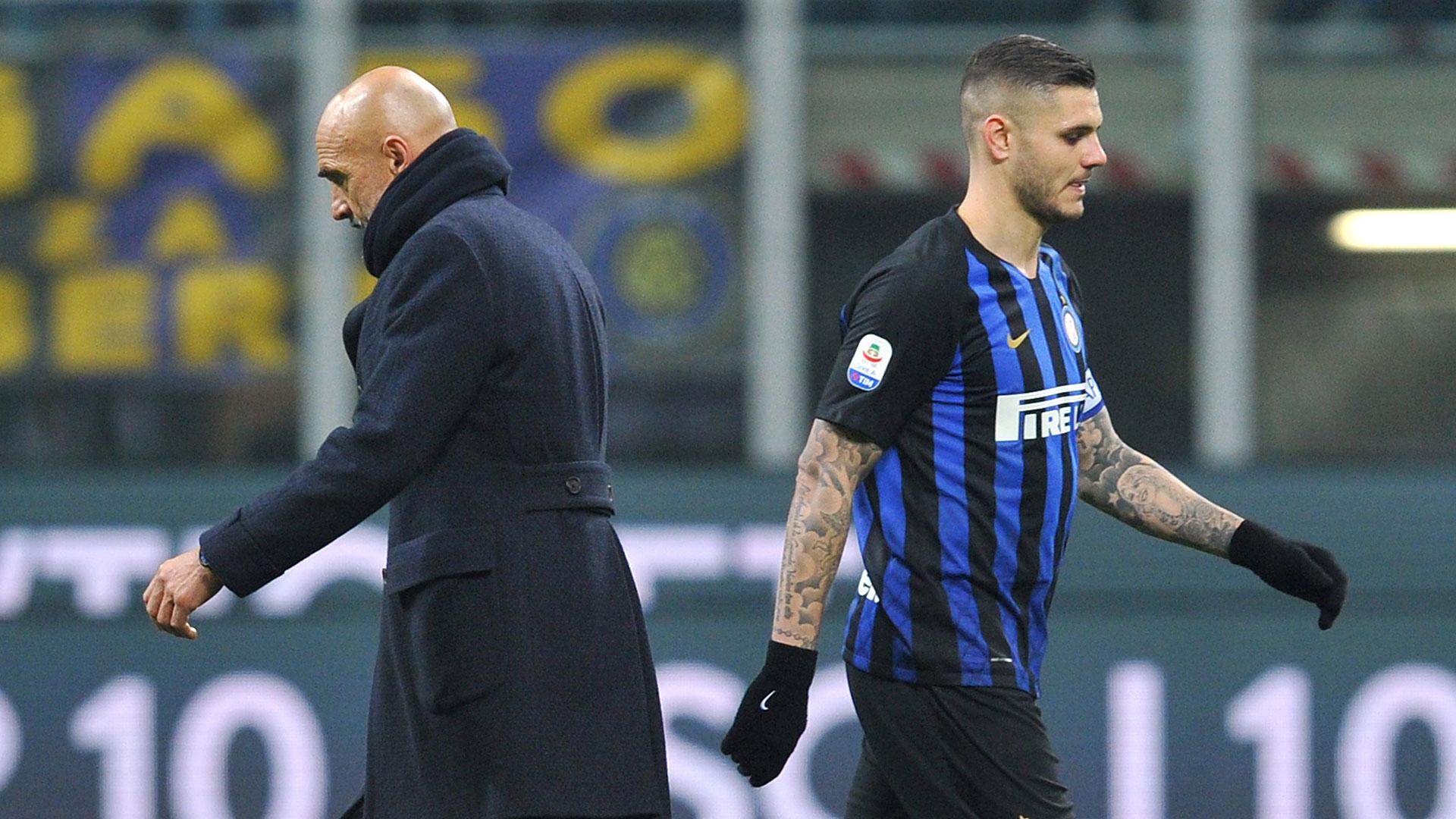 Mauro Icardi atraviesa un mal instante en el Inter de Milán (Reuters)