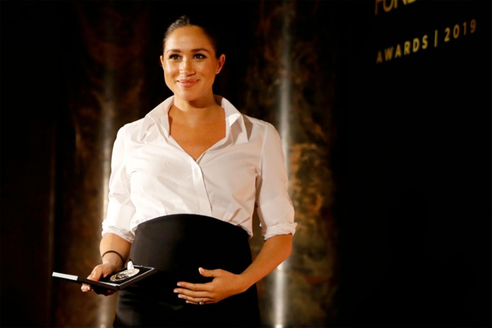 Meghan Markle es amiga de George Clooney (POOL/AFP/Archivos – Tolga AKMEN)