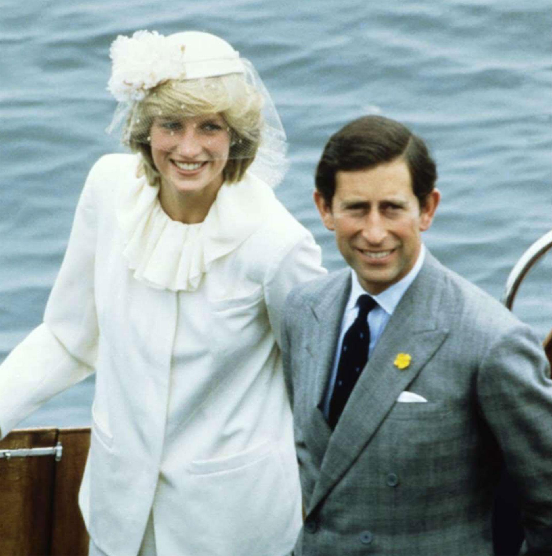 Lady Di junto al príncipe Carlos. (Foto: Instagram)