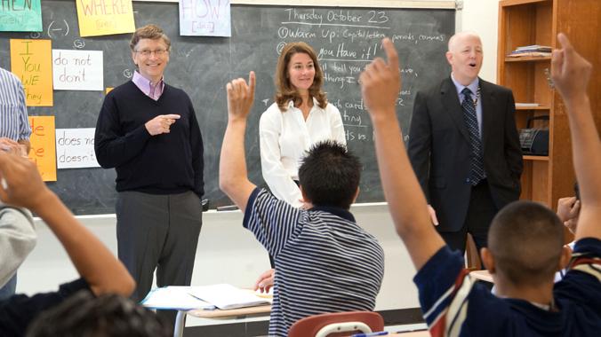 El fundador de MIcrosoft y su esposa comparten la Fundación Bill y Melinda Gates, que se dedica a la filantropía en los EEUU y en el mundo.(Bill and Melinda Gates Foundation)