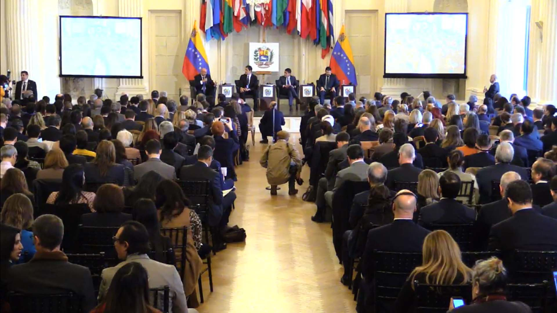 La conferencia sobre ayuda humanitaria en la OEA