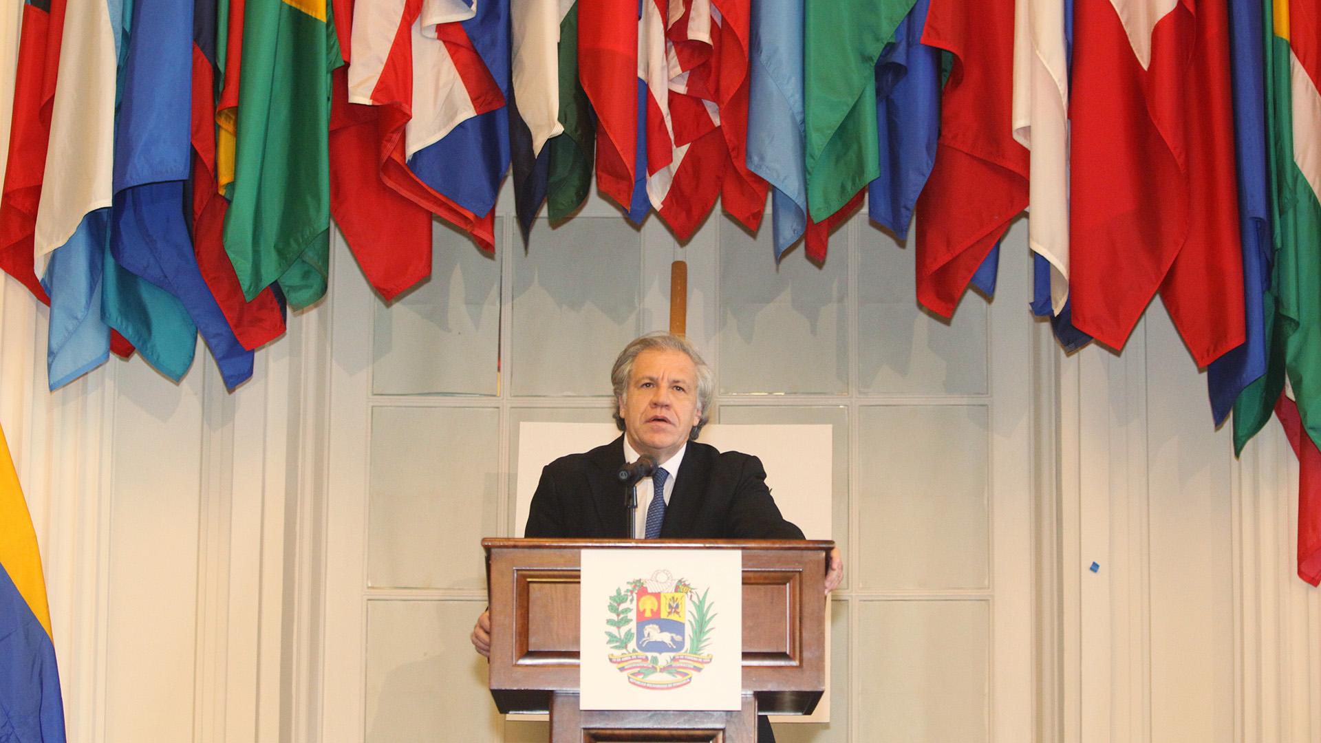 Luis Almagro fue uno de los principales oradores