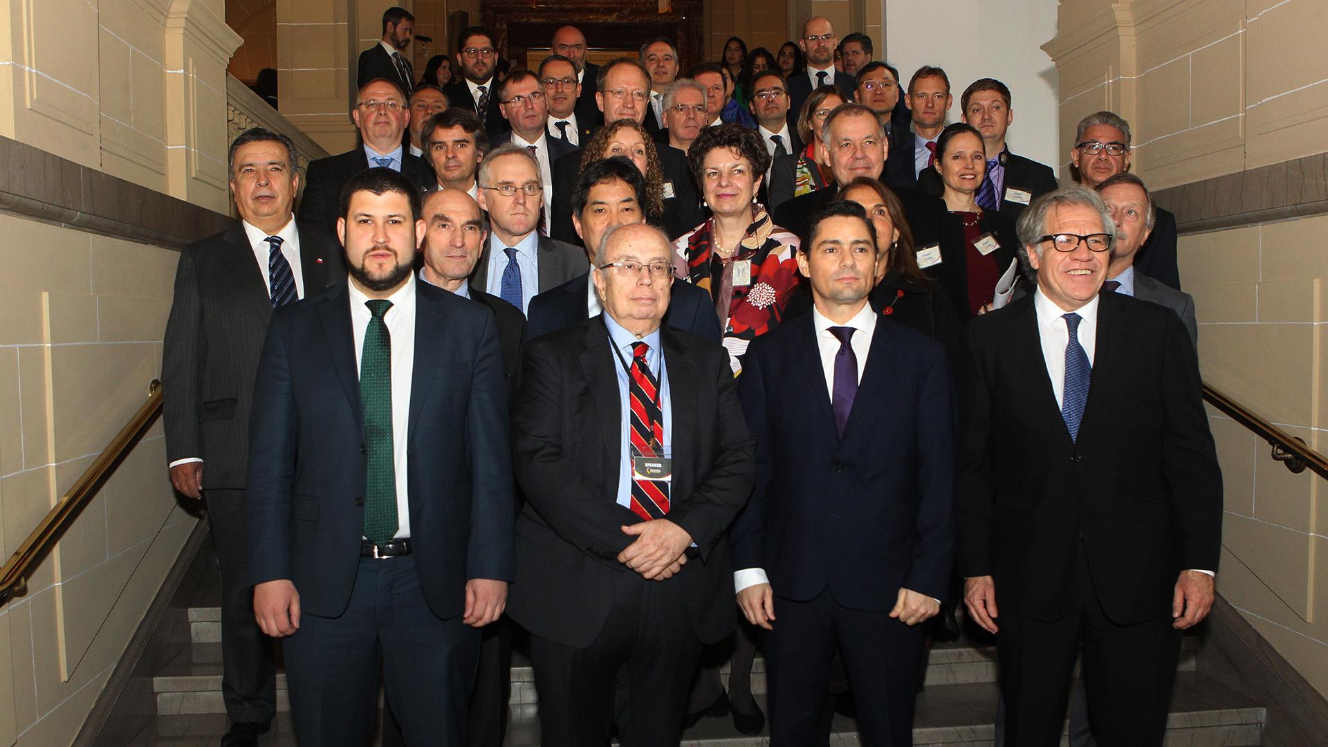 Diplomáticos de todo el continente respaldaron al gobierno de juan Guaidó en la Conferencia sobre ayuda humanitaria desarrollada en la sede de la OEA