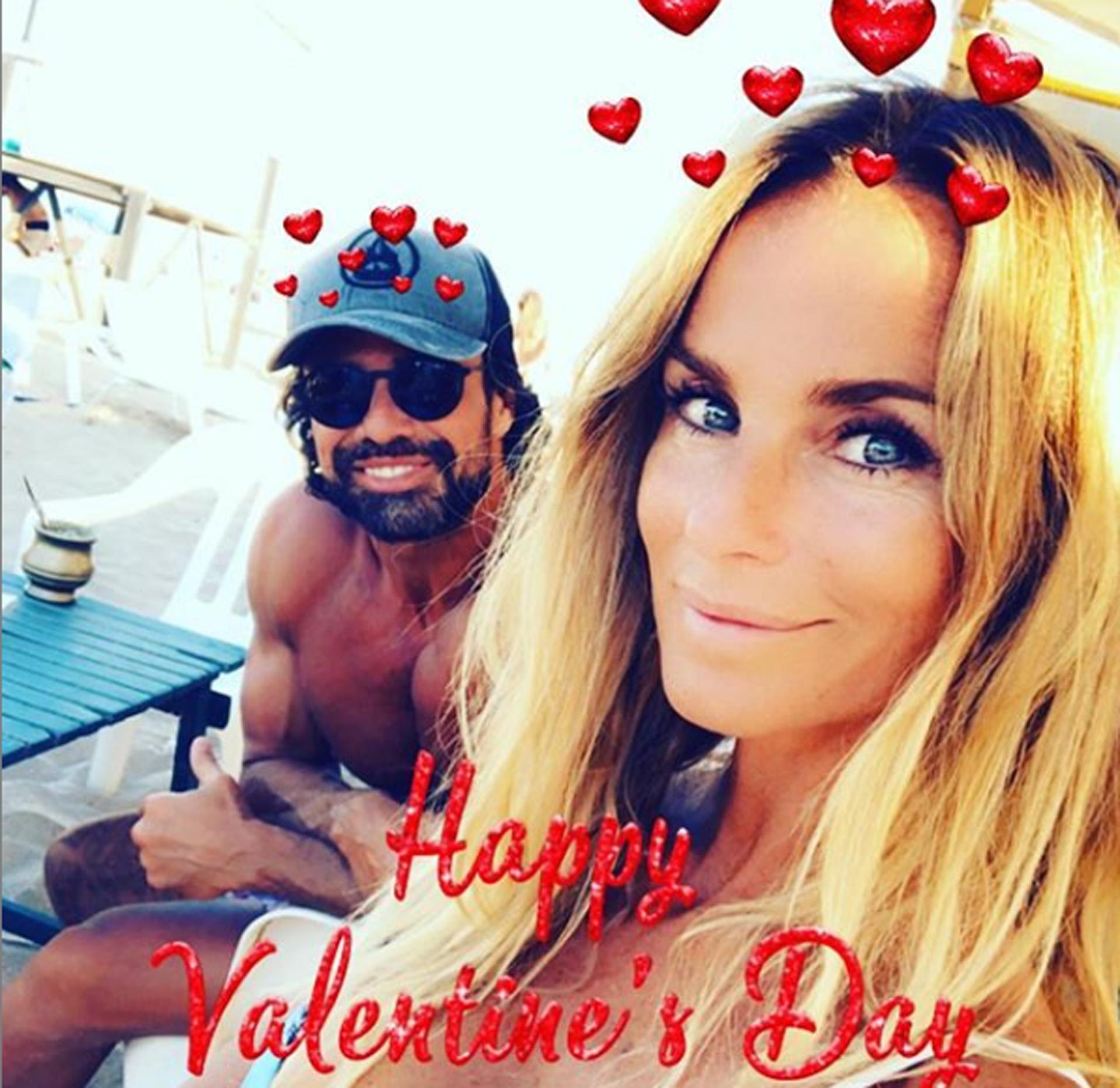 Luego de una separación, Sabrina Rojas y Luciano Castro confirmaron su reconciliación. La pareja celebró San Valentín y lo compartieron en las redes (Instagram)
