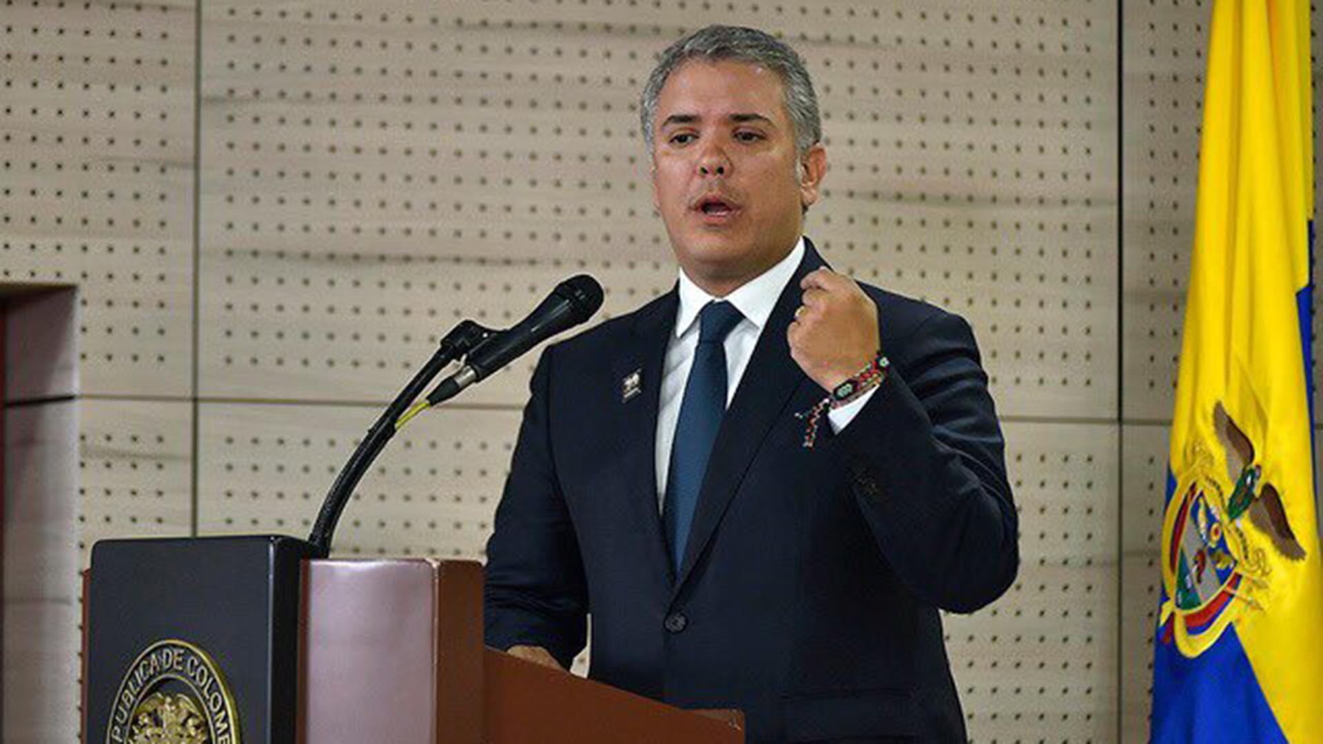 Iván Duque en la OEA