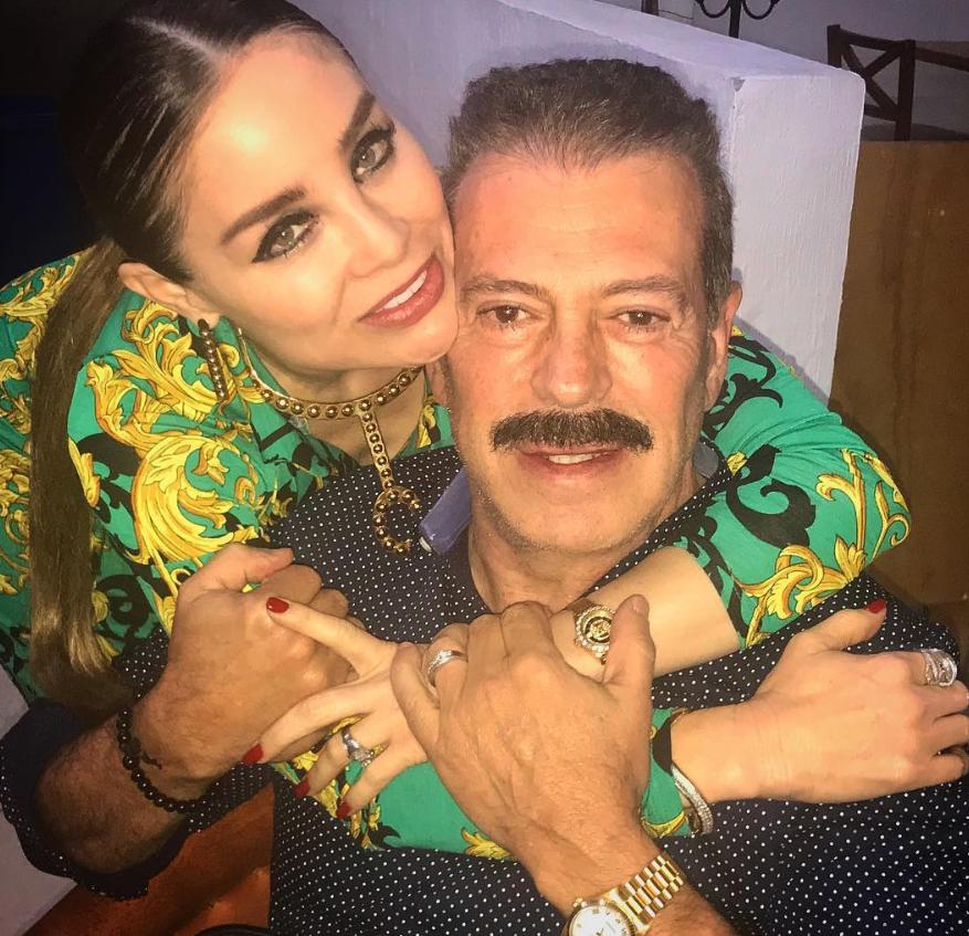 Sergio Goyri y su pareja Lupita Arreola (Foto: Instagram)
