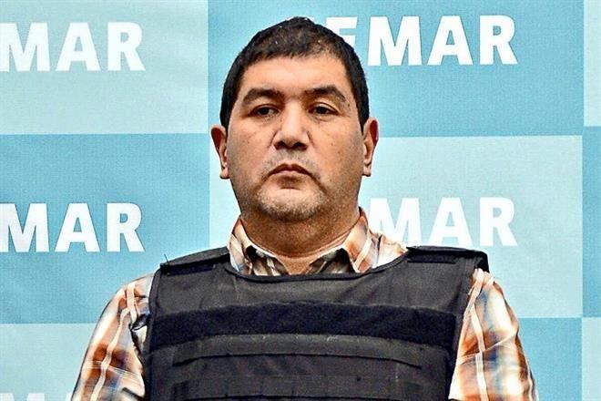 """""""El Talibán"""" fue capturado en San Luis Potosí el 28 de septiembre de 2012 (Foto: Secretaría de Marina)"""