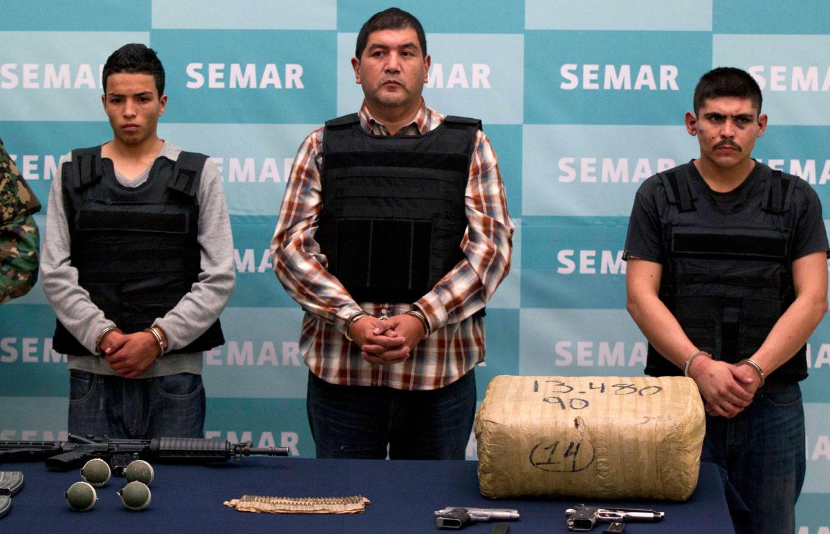 El narcotraficante fue condenado a 30 años de prisión por diversos cargos relacionados con el tráfico de drogas (Foto: Secretaría de Marina)