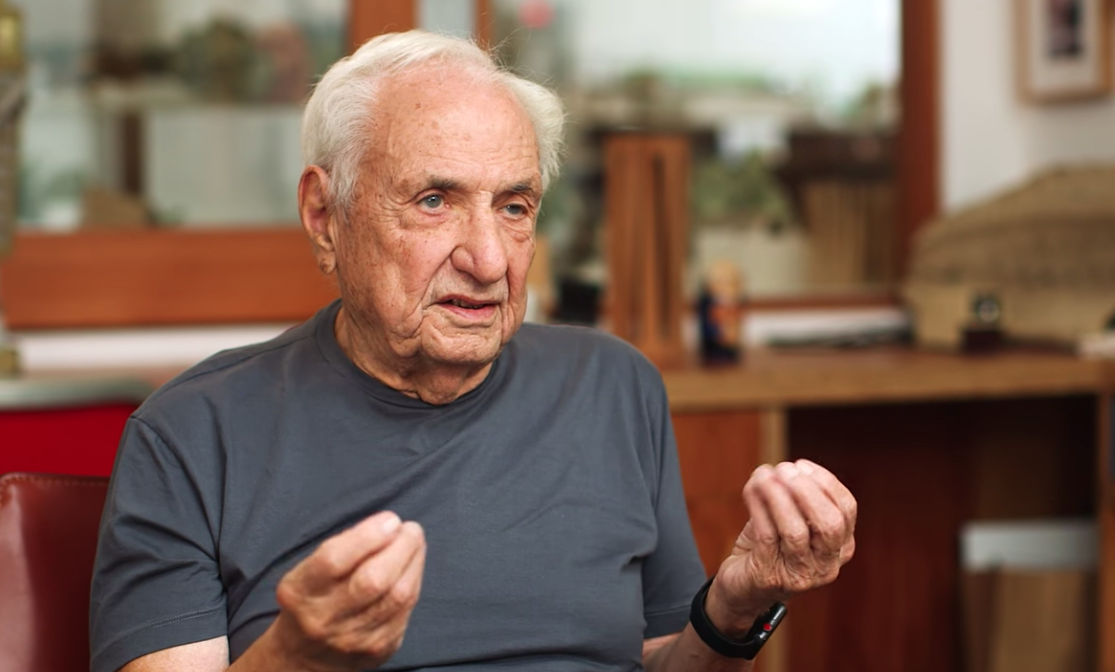 Frank Gehry / Captura YouTube Fortune Magazine