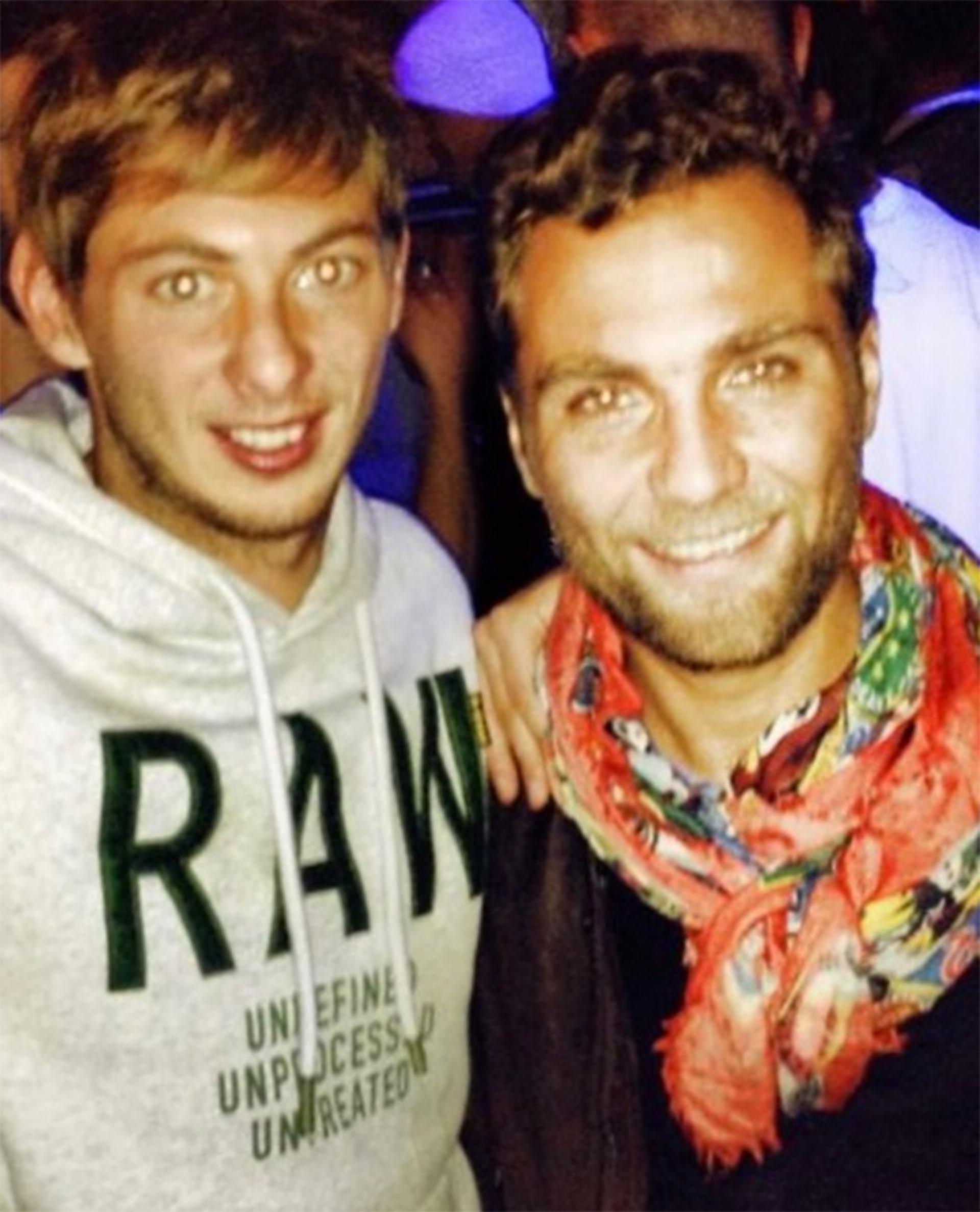 Emiliano y Nicolás juntos: es la imagen que compartió Higuaín en Instagram durante su búsqueda