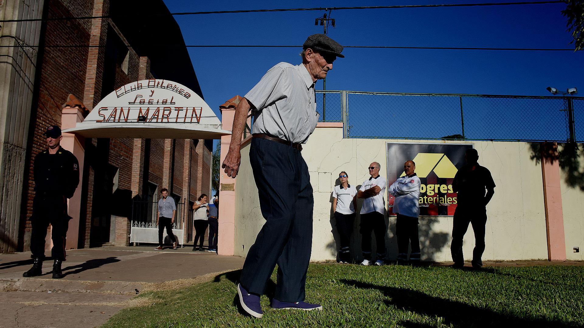 El club San Martín de Progreso fue el sitio elegido para la despedida