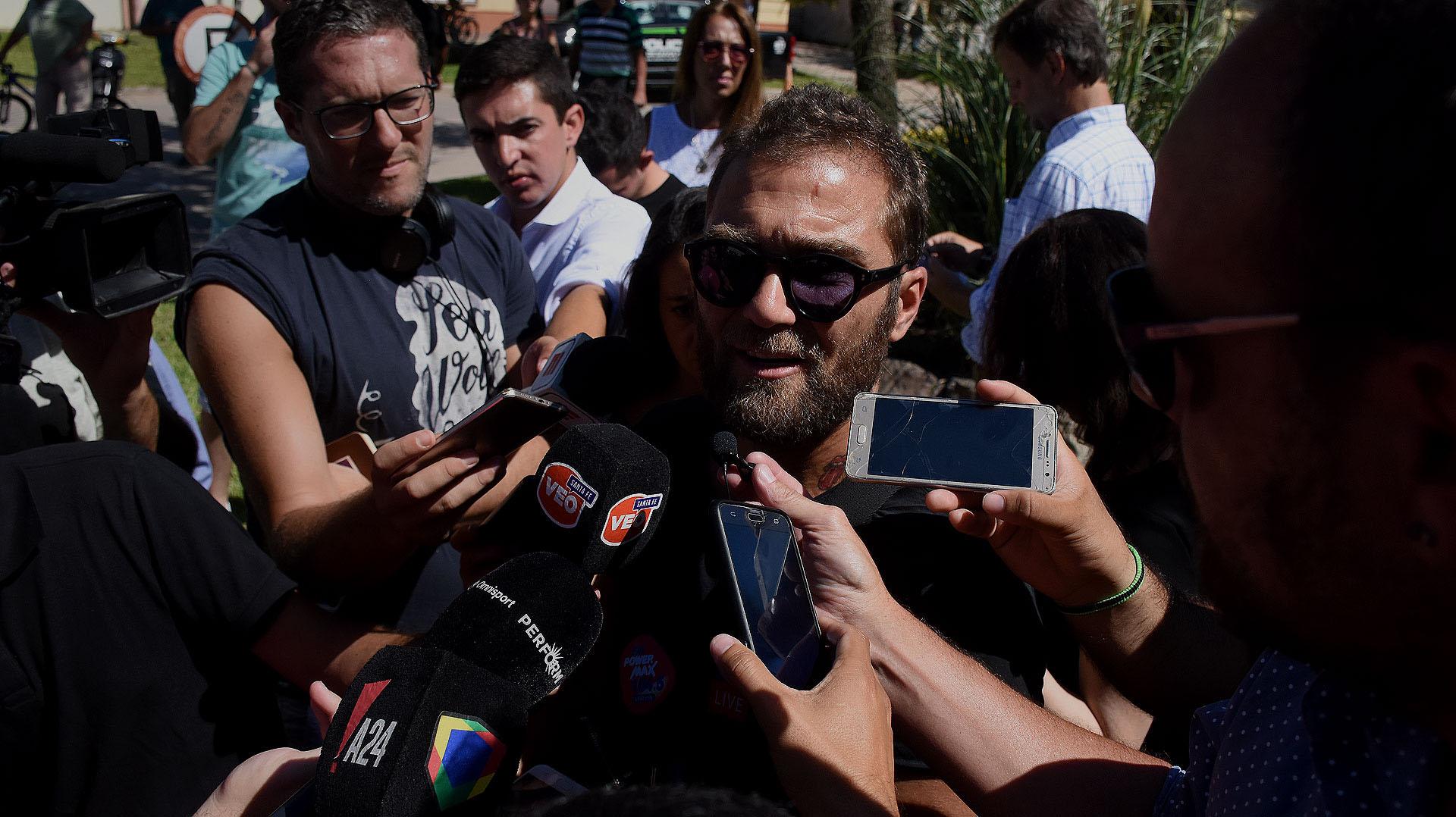 Matías Higuain fue el representante de Emiliano Sala entre 2011 y 2017 (Nicolás Stulberg)