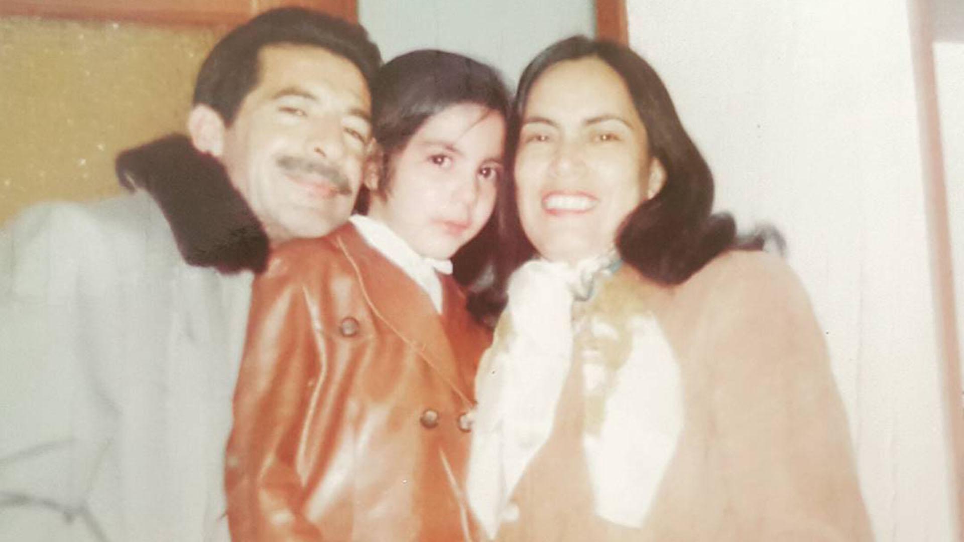 Zuri Ríos junto a su padre (@zuryriossosa)