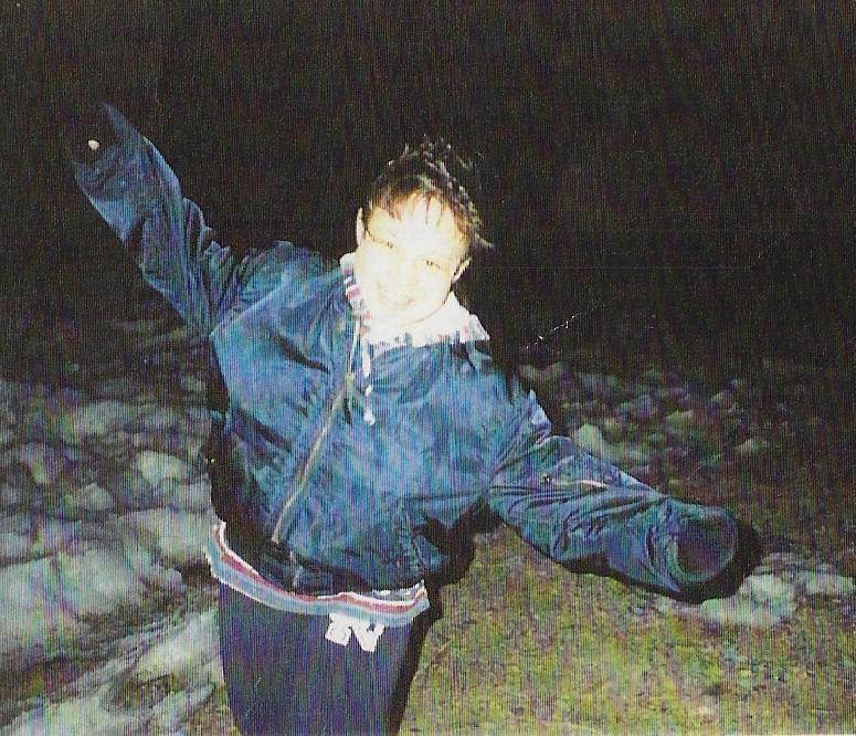 Sophie Sergie, horas antes de ser asesinada