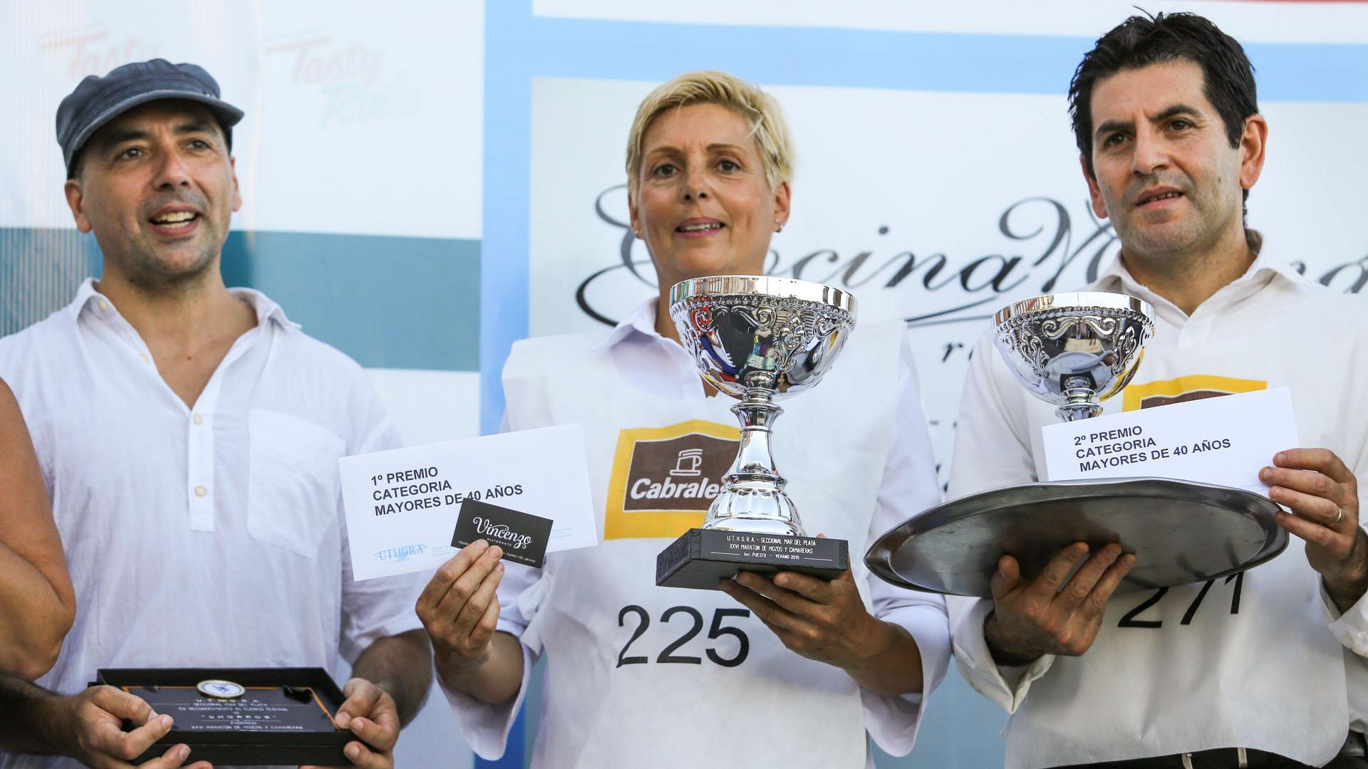 Todos los ganadores se llevaron sus copas y premios de los sponsor de la prueba: $3.000 para el primero, $2.500 para el segundo y $2.000 para el tercero