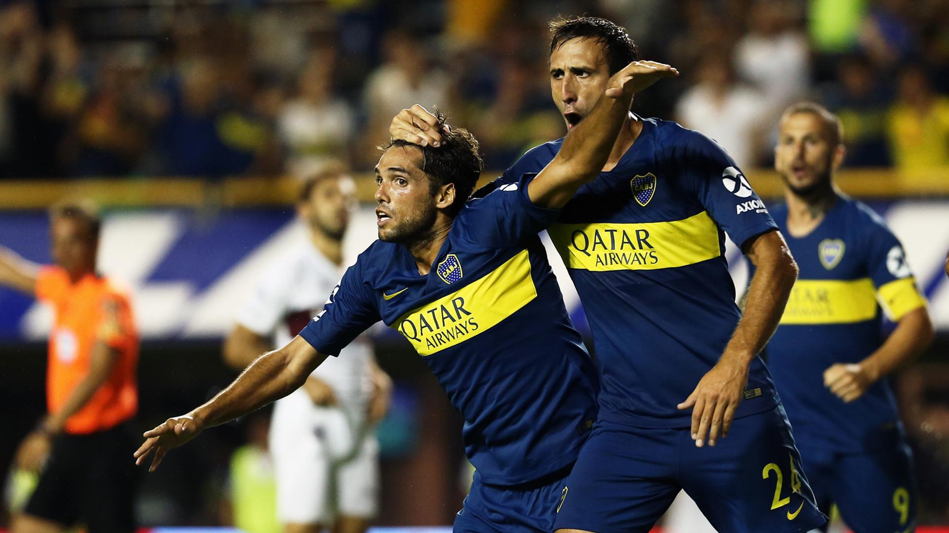 Boca derrotó a Lanús y suela con dar pelea en la Superliga (Foto Baires)