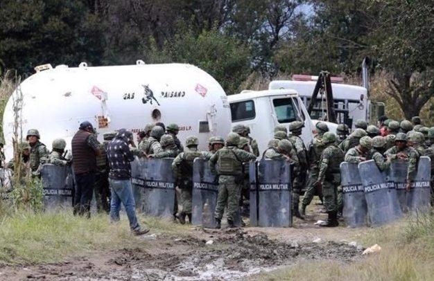 """Como ocurre con el robo de gasolinas, la zona centro del país también es la más afectada por """"la ordeña"""" de gas LP. (Foto: Especial)"""