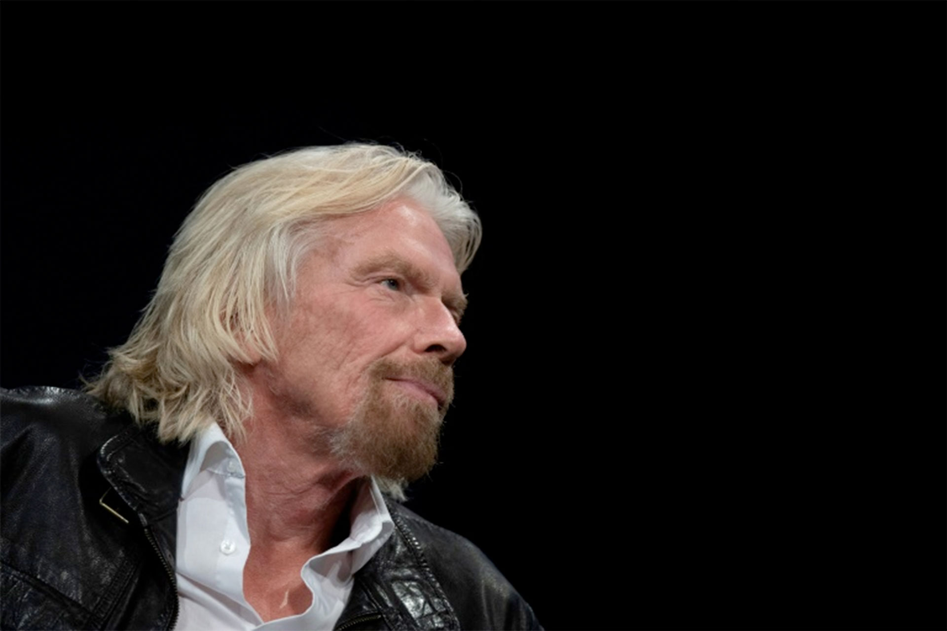 El fundador de Virgin Galactic, Sir Richard Branson, el 7 de febrero de 2019, en Washington DC (AFP – Jim WATSON)