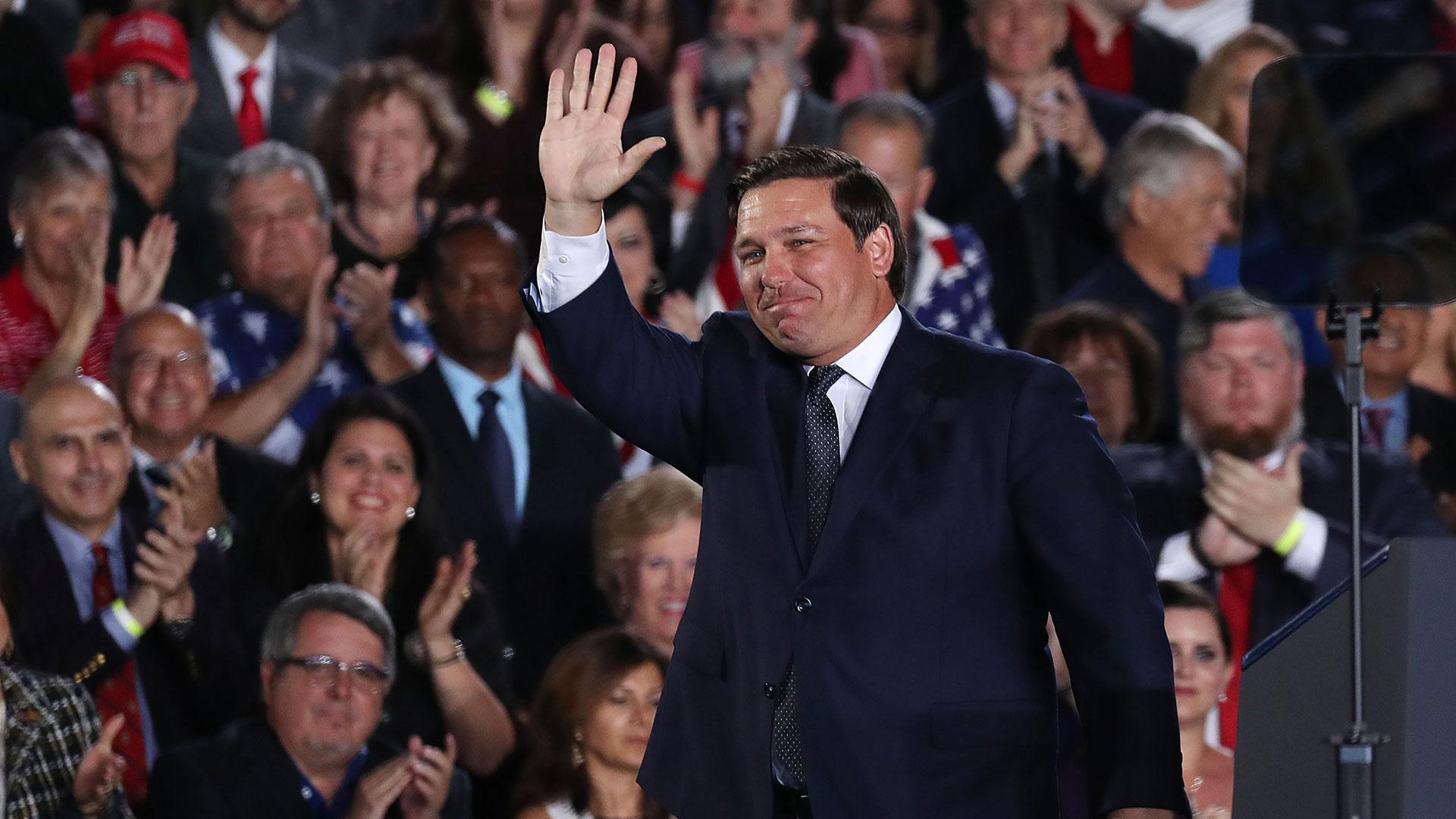 Ron DeSantis (AFP)