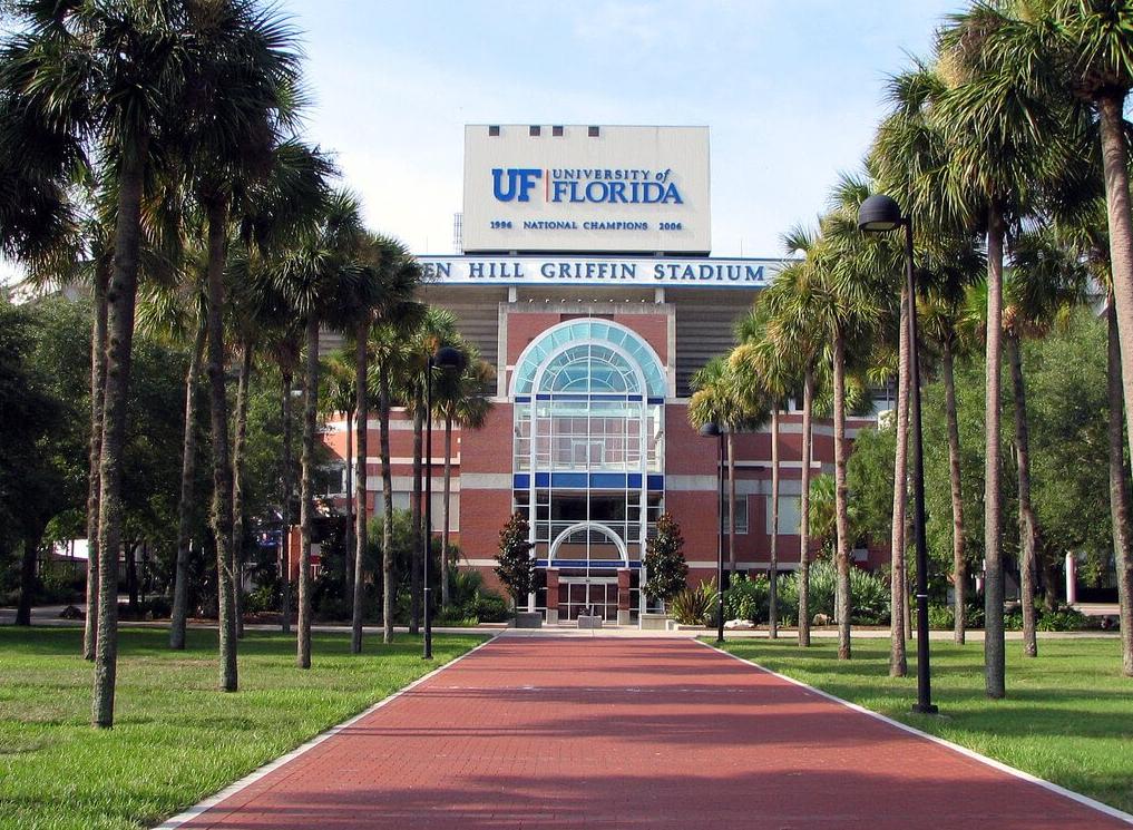 El estudiante fue arrestado en la Universidad de Florida (Crédito: @josansmith)