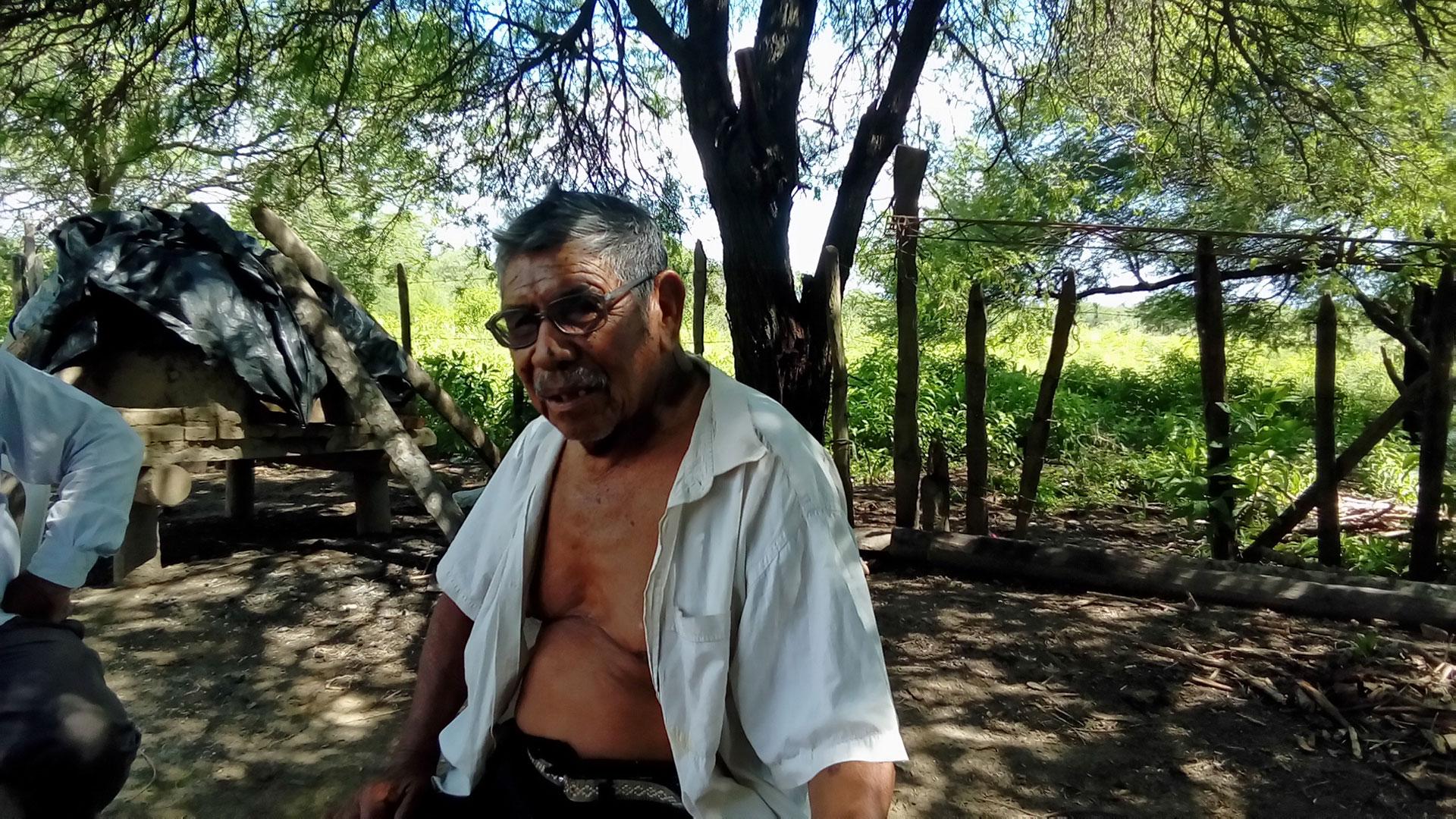 El cacique Ramón Ortega recibió a los cronistas de Infobae en Formosa