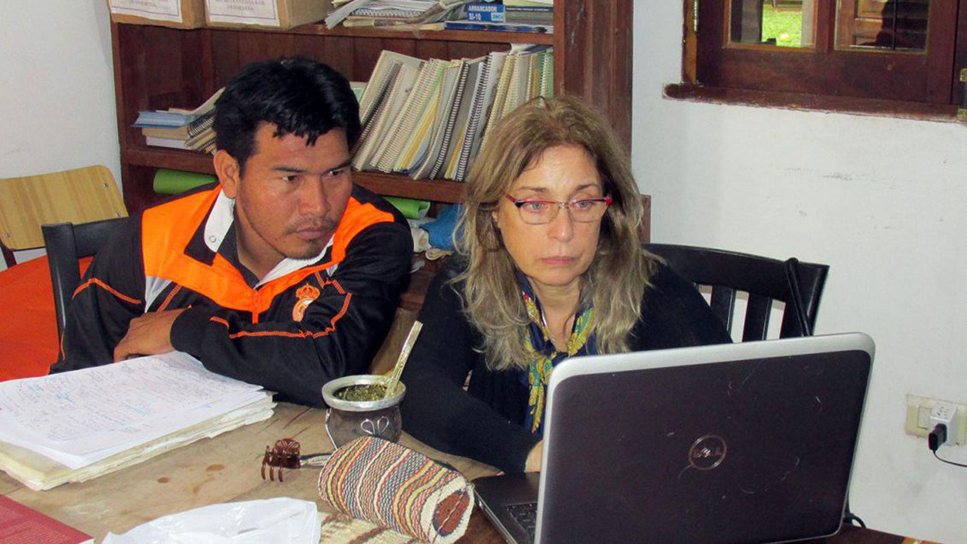 La lingúista Alejandra Vidal trabaja con las comunidades indígenas del territorio formoseño