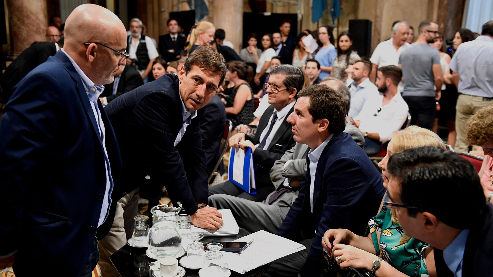 El proyecto de Extinción de dominio fue discutido en la comisión bicameral (Foto: Pablo Grinberg / Comunicación Senado)