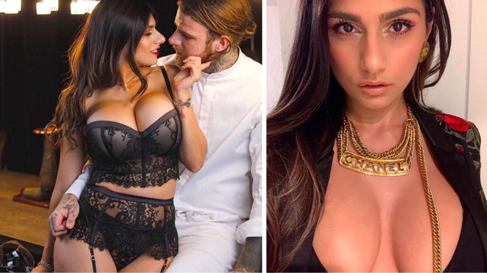 10 Famosas Que Llegaron A Actriz Porno la ex actriz porno mia khalifa presume su celulitis y así
