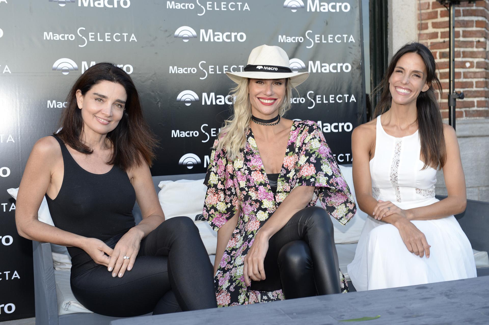 Verónica Varano, Paula Morales y María Susini