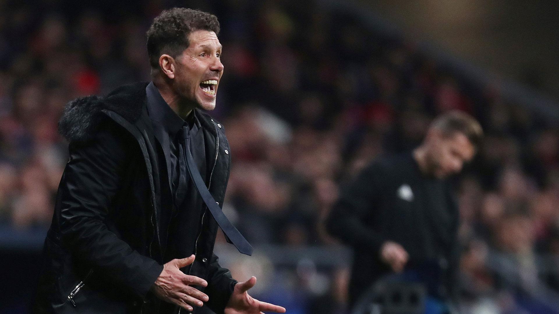 (Reuters) Simeone se refirió a la salida de Griezmann