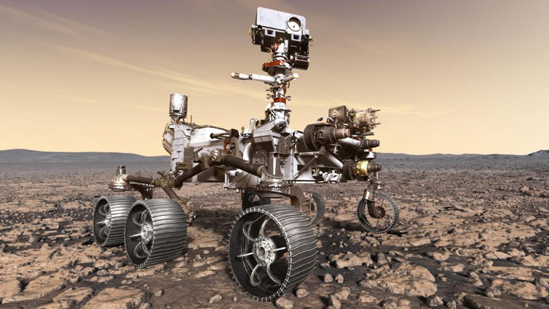 Mars 2020 es un robot muy parecido a Curiosity