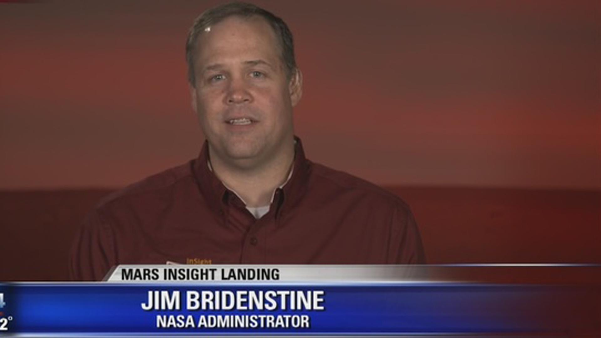 Jim Bridenstine, administrador de la NASA y optimista en el hallazgo de vida en los próximos años
