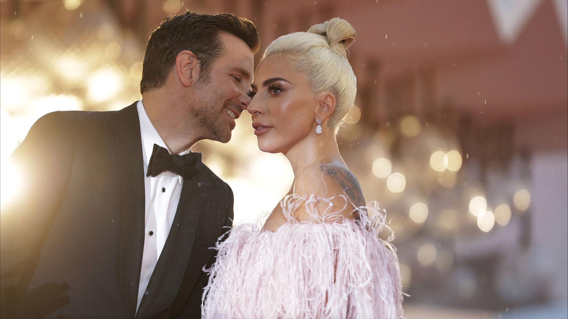 La química entre Bradley Cooper y Lady Gaga fue instantánea (AP)